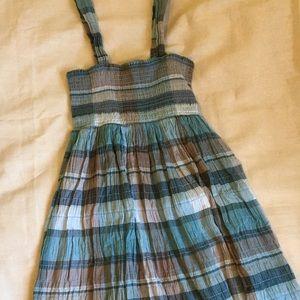 NWT Calvin Klein Jeans Plaid Sun Dress Medium